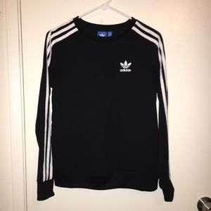 Adidas long sleeve athletic top size x small
